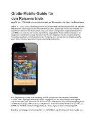 Gratis-Mobile-Guide für den Reisevertrieb - Giata