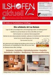 Ausgabe 12/2012 - Gewerbeverein-ilshofen.de