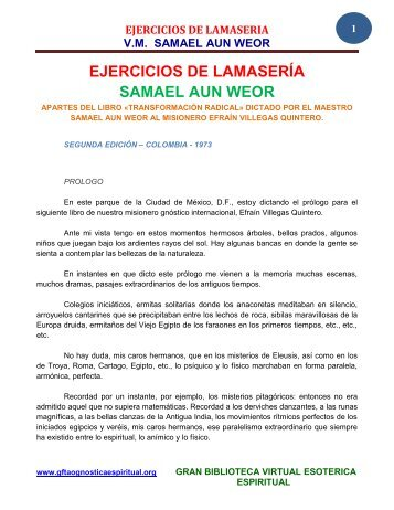 PERFECTO WEOR PDF AUN EL SAMAEL MATRIMONIO
