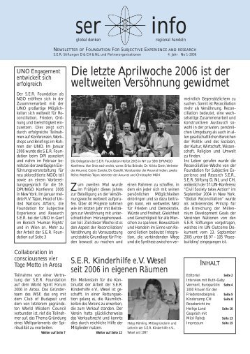 SER Info 1/2006 - Global Balance