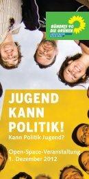 jugend kann politik! - Kompetenzzentrum geschlechtergerechte ...