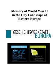 Download - Geschichtswerkstatt Europa
