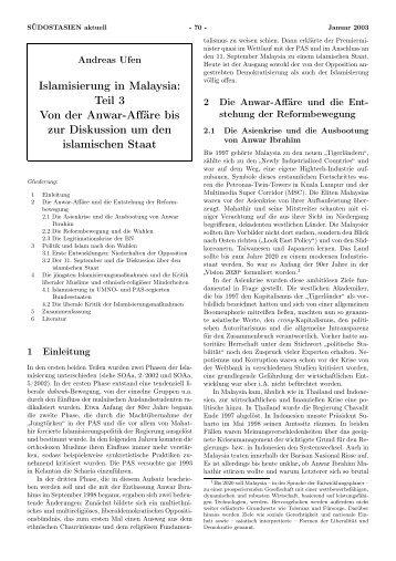 View - GIGA German Institute of Global and Area Studies