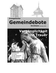 2. - Gemeindebote