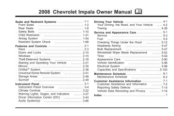 2008 chevrolet impala webasto rh yumpu com 2008 impala manual trunk release 2008 impala repair manual pdf