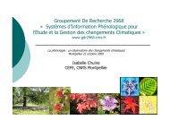 Groupement De Recherche 2968 - GDR SIP-GECC - CNRS