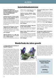 Gemeindebaukommission Wanderfreaks des Jahres gesucht