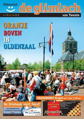 BOVEN IN OLDENZAAL - Glimlach van Twente