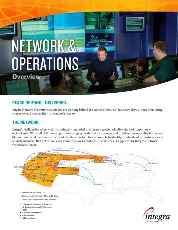 NETWORK & OPERATIONS - Integra Telecom