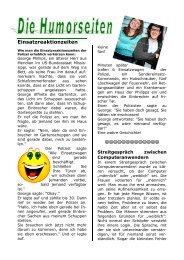 Einsatzreaktionzeiten - (GdP) - Kreisgruppe Recklinghausen