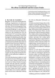Dr. Gerhard Engel: Die offene Gesellschaft und ihre neuen Feinde