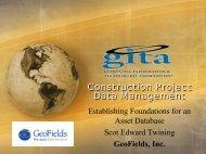 Presentation: Pipeline Construction Data Management ...