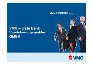 VMG – Erste Bank Versicherungsmakler GMBH