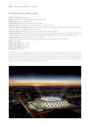 Arena da Amazônia, Manaus, Brazil - gmp Architekten von Gerkan ...