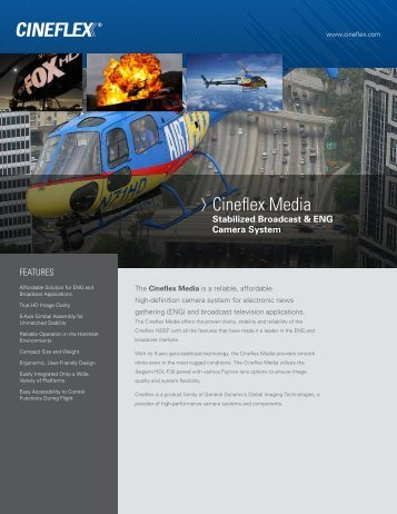 Cineflex Media - General Dynamics Global Imaging Technologies