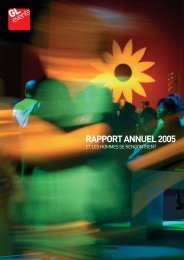 RAPPORT ANNUEL 2005 - GL events