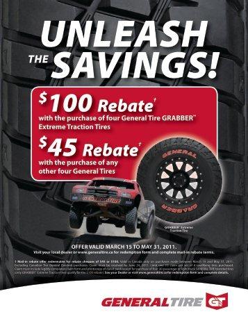 100 Rebate? $45 Rebate - GM Canada