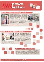 MMC ModeCenterCard 2009 erfolgreich gestartet - Globana Trade ...