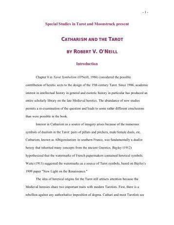 V. O'N - Holy Order of the Golden Dawn Canada