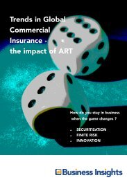 Trends in Global Commercial Insurance - the ... - Business Insights