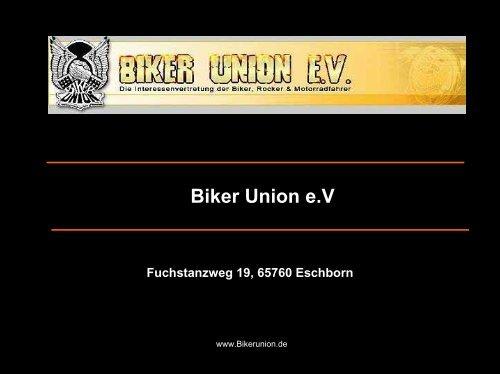 Careers for a global generation - Biker Union e. V. gegen ...
