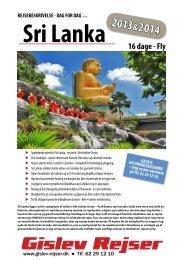Sri Lanka - Gislev Rejser