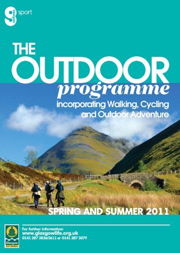 outdoor brochure 2011 pages - Glasgow Life