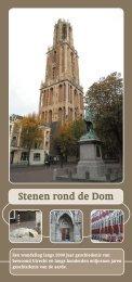 Stenen rond de Dom - Universiteit Utrecht