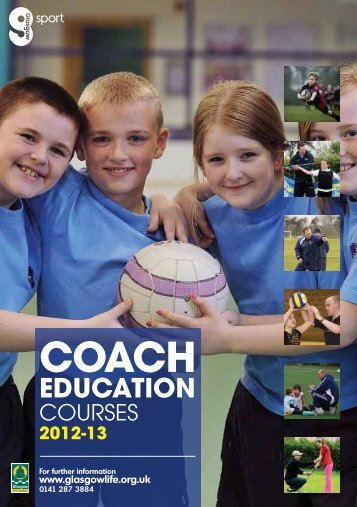 Coach Education Diary - Glasgow Life