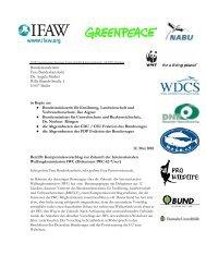 IFAW Internationaler Tierschutz-Fonds gGmbH Kattrepelsbrücke 1