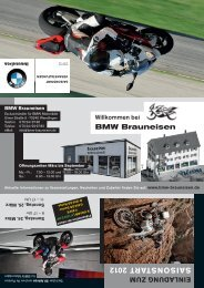 EI NL AD UNG ZUM SA IS ON ST ART 2012 - Bmw-Brauneisen