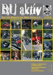 Das Info-Magazin der Biker Union eV 2/2010