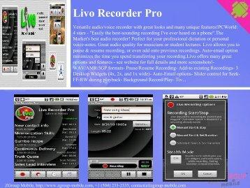 Livo Recorder Pro - Get Mobile game
