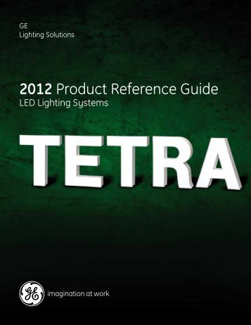 2012 Product Reference Guide - GE Lighting