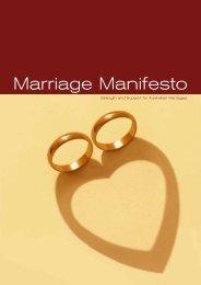 Marriage Manifesto FINAL.cdr - Gender Matters