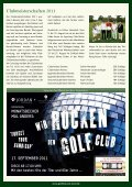Newsletter September 2011 - Golfclub am Meer - Page 3