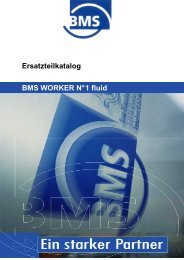 Ersatzteilkatalog Fluid - BMS Bau-Maschinen-Service AG