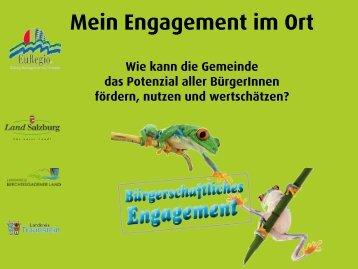 Workshop-Ergebnisse - Gemeindeentwicklung