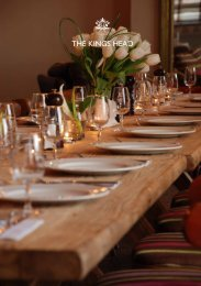 download menus & venue details download online ... - Geronimo Inns