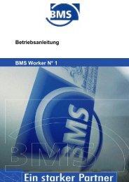 Einleitung - BMS Bau-Maschinen-Service AG
