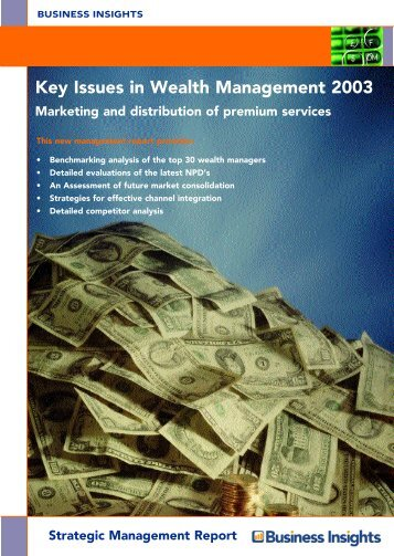 Key Issues in Wealth Management 2003 - Business Insights