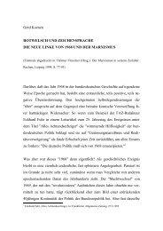 Gerd Koenen ROTWELSCH UND ZEICHENSPRACHE DIE NEUE ...