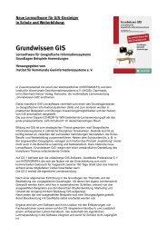 Grundwissen GISWEB - GeoBranchen