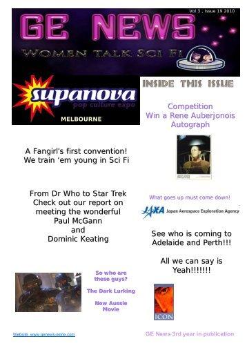 Competition Win a Rene Auberjonois Autograph A ... - GE NEWS