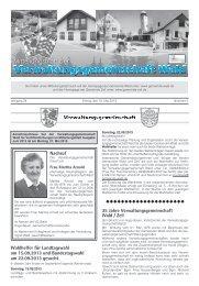 Nachruf Wahlhelfer für Landtagswahl am 15.09 ... - Gemeinde WALD