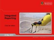 Charl de Villiers - Global Reporting Initiative