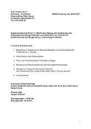 3. Sitzung 24.08.2011 - Gemeinde Dornburg