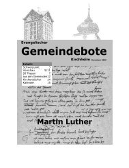 November 2005 - Gemeindebote
