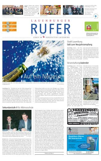 Lauenburger Rufer - Gelbesblatt Online
