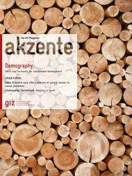 Complete issue (pdf, 10.52 MB, EN) - GIZ